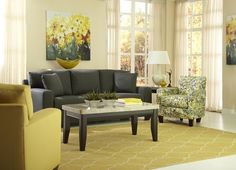 #Havertys Abby Lane collection has florals, color and class!