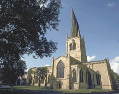 """Church of St Mary and All Saints in Chesterfield, Derbyshire, is commonly known as the Crooked Spire. It served as the """"in""""spire""""ation"""" for the church with the twisted spire mentioned early in The Sphere of Septimus http://simon-rose.com/books/the-sphere-of-septimus/"""