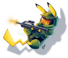 Pokemon Pikachu Military HiTech - Pokemon Pikachu Military HiTech You are in the right place about salute francais Here we offer you - Pokemon Comics, Pokemon Memes, Pokemon Funny, Pokemon Cards, Pichu Pikachu Raichu, Pikachu Art, Cute Pokemon Wallpaper, Cute Cartoon Wallpapers, Chibi