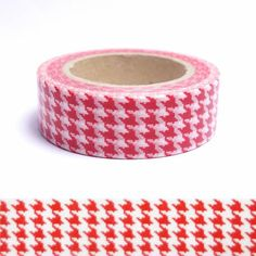 MASKING TAPE PATTE D'OIE ROUGE