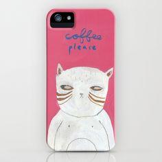 pissy kitty iPhone & iPod Case by Mati Rose Studio - $35.00