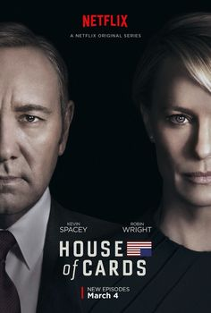 Just finished House of Cards Season 4. Superb. Spacey is brilliant but Robin Wright is even better. We need Frank against 'The Donald'. HL