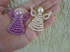 Step by step - Pearls Angel | NM Bijoux Nubia Maia