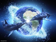 The Earth is experiencing shift in consciousness through is vibrational reconditioning. The Starseeds, Dolphins, Whales, and the energies of...