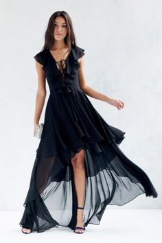 The Jetset Diaries Dio Lace-Up Maxi Dress - Urban Outfitters