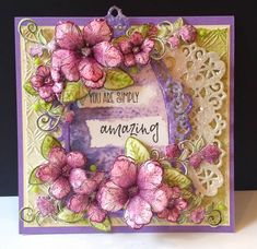 Simply Amazing by DJRants - Cards and Paper Crafts at Splitcoaststampers #heartfeltcreations