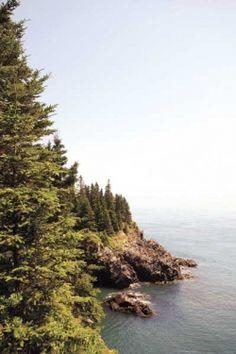 Bold Coast Trail in Maine
