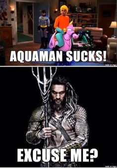Everyone ATE their words after the Justice League trailer revealed Momoa's Aquaman SUCK IT HATERS