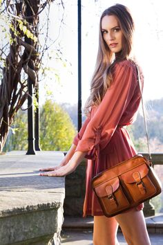Patricia Nash - Terramo Top Zip in Veg Tan from our Heritage Collection.