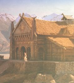 Edoras…I think I would like to live here and ride Shadofax than anywhere else in Middle Earth!