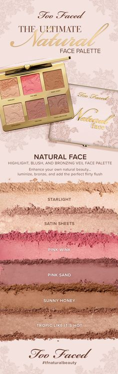 Luminize, then add a bronzing veil and a flirty flush with this first-of-its-kind face palette. Infused with hydrating coconut butter, the velvety-soft formula includes multi-dimensional shades that will take your natural beauty up a notch.