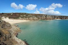 beaches used in Series Porthcurno (left) & Pedn Vounder (right). For exact locations see Poldark Filming Locations, Bbc Poldark, Free Maps, England, Le Far West, Turquoise Water, Sunny Days, Sea Shells, Places To See