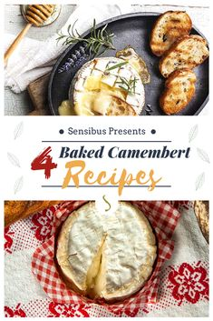 Baked Camembert is perfect as appetizer: discover now our 4 delicious baked camembert recipes! Quick Appetizers, Cheese Appetizers, Appetizers For Party, Appetizer Recipes, Camembert Recipes, Baked Camembert, Camembert Cheese, Starter Food, Mixed Berry Jam
