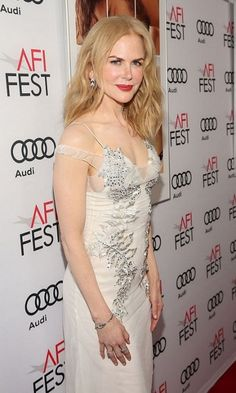 Nicole Kidman stepped onto the carpet for the premiere of The Weinstein Company's Lion at AFI Fest 2016 in L.A.