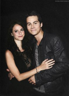 Dylan O'Brien and Kaya Scodelario as Adam and Sydney