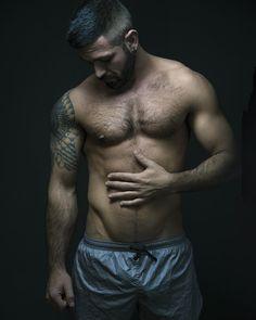 """Deep Dark - Mirko www.stefanooliva.com #deep #dark #deepdark #man #muscle #light #intense #mustafasabbagh"""