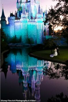 Disney Wedding. Jessie would never go for this, but I would die of excitement if we could get married here!