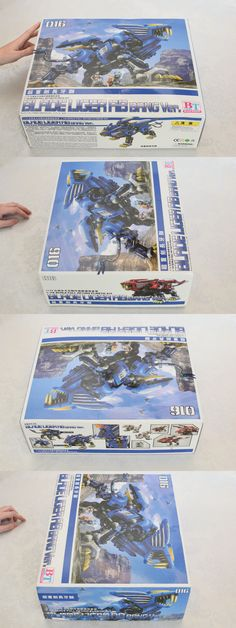 Other Models and Kits 774: Bt Zoids Hmm Blade Liger Ab Bang Version 016 1 72 Full Action Plastic Model Kit -> BUY IT NOW ONLY: $175 on eBay!