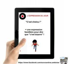 """Cést chelou! C'est l'invers de """"louche""""...which means """"shady""""."""