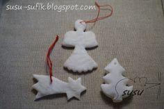 Sufik: Vánoční ozdoby ze škrobu a jedlé sody