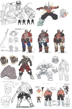 A calm Asura during his time as one of the Eight Guardian Generals Asura as a Guardian General Yasha's and Asura's death (manga) Early design of Asura Early design of Asura Early design of Asura Early design of Asura Guardian General Outfit Character Creation, Character Concept, Character Art, Game Concept Art, Armor Concept, Fantasy Warrior, Fantasy Art, Asura's Wrath, Street Fighter Characters