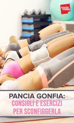 Pancia gonfia e/o rilassata: consigli e esercizi per sconfiggerla Pilates Training, Pilates Workout, Yoga Fitness, Health Fitness, Fit Girl Motivation, Fitness Motivation, Fitness Inspiration, Squat Bum, Stay Fit