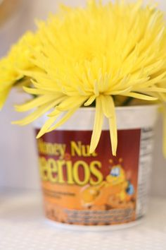 cheeriossingleservingbowlwithflowers
