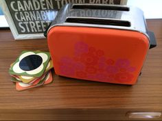"""Orla Kiely coasters & my fav Ebay find to date """"Mary Quant"""" toaster"""