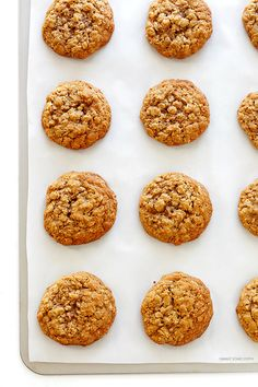 Soft and chewy whole wheat oatmeal cookie recipe
