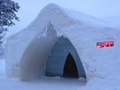 L'hôtel de glace et neige de Rovaniemi en Laponie finlandaise