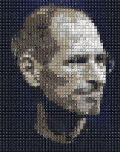 Steve Jobs keyboard rendering - keys