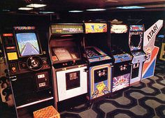 Arcade- it was fun to go and play & see all your friends