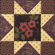 Civil War Quilts: Stars in a Time Warp 18: California Gold