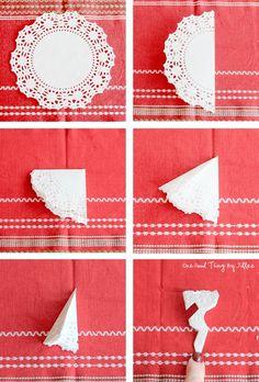 doily snowflakes 2