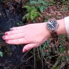 My wood watch from @JORD Wood Watches Visit jasclaire.com #fashion #ootd #reloj #watch