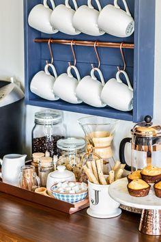 How to make a DIY coffee bar station