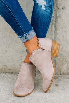 RubyClaire Boutique - Hilary Booties, $39.00 (https://www.rubyclaireboutique.com/hilary-booties/)