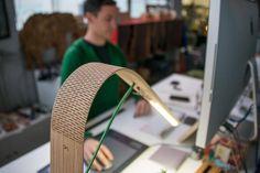 Madera flexible por ranurado laser