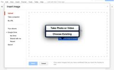 Inserting Images Int A Google Doc in iPad