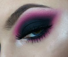 "242 Likes, 16 Comments - Sanja Beograd Lucani (@dreamers_sanja) on Instagram: ""How about black and pink eye look❔ Used: @sephora Pink shadow @inglotsrbija Purple shadow no 297…"""