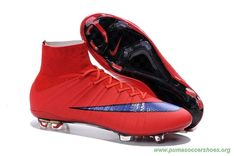 RED/PURPLE ACC Nike Mercurial Superfly X FG Mens 2015 Soccer Cleats