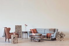 Featured: Bjorn Sofa, Geisen Chair, Teak Cube Stool, Juneau Coffee Table, Juneau End Table, Teak Brick Wall Decoration, Klassik Table Lamp in Copper, Magnetic Ball Light in Copper, Teak Bowls, Canal Houses, Glamos Blanket, Glamos Throw Pillow, Myrull Throw Pillow, Alpaca Throws #ilovescandis #scandis #interiordesign #furniture #decor #scandinavian