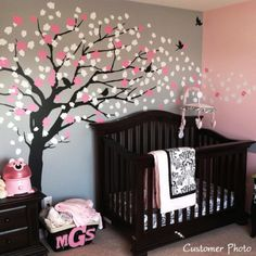 Adorable baby girl's bedroom