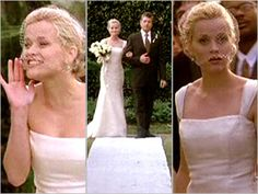 reese witherspoons wedding dress in sweet home alabama | Reese Witherspoon's other gorgeous wedding gown | PopWatch | EW.com