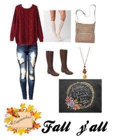 """""""Ready for fall (read description)"""" by violingirl2003 ❤ liked on Polyvore featuring Daytrip, Cole Haan and Bueno"""