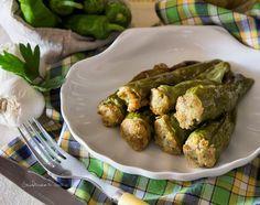 Friggitelli ripieni ricetta sfiziosa e semplice, una vera bontà da portare a tavola come secondo piatto o come contorno sostanzioso.