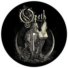 Opeth Vinyl Slipmat