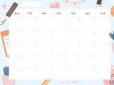 ปฏิทิน - Google ไดรฟ์ Monthly Planner Printable, Printable Paper, Weekly Planner, School Timetable, School Clipart, Diy Calendar, Notes Design, Notebook Paper, Good Notes