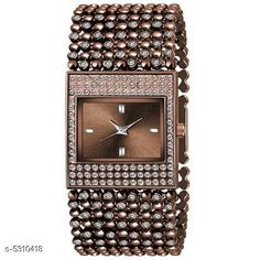 Checkout this latest Watches Product Name: *New Trendy Women's Watch* Strap Material: Metal Display Type: Analogue Size: Free Size Multipack: 1 Country of Origin: India Easy Returns Available In Case Of Any Issue   Catalog Rating: ★4.1 (202)  Catalog Name: New Trendy Women's Watch CatalogID_788686 C72-SC1087 Code: 372-5310418-015