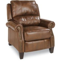 Tarleton High Leg Recliner by La-Z-Boy (in pebbled gray leather)  sc 1 st  Pinterest & Logan Leather Recliner | Furniture Finds | Pinterest | Recliner ... islam-shia.org